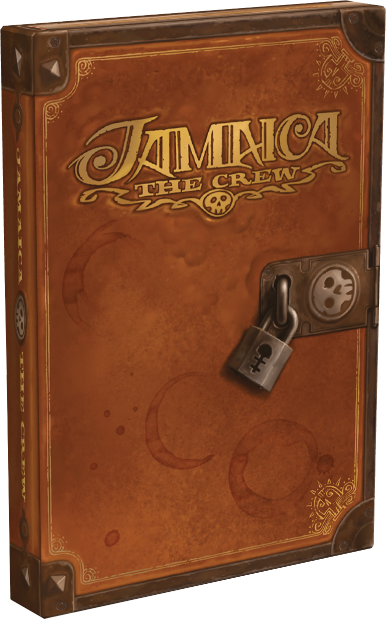 Jamaica: The Crew Expansion Box Front