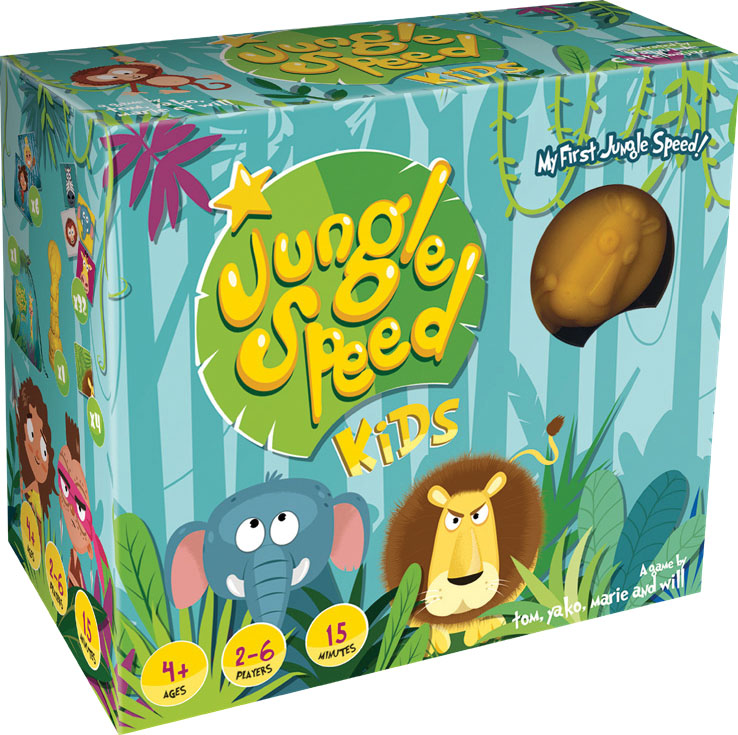 Jungle Speed: Kids (stand Alone) Game Box