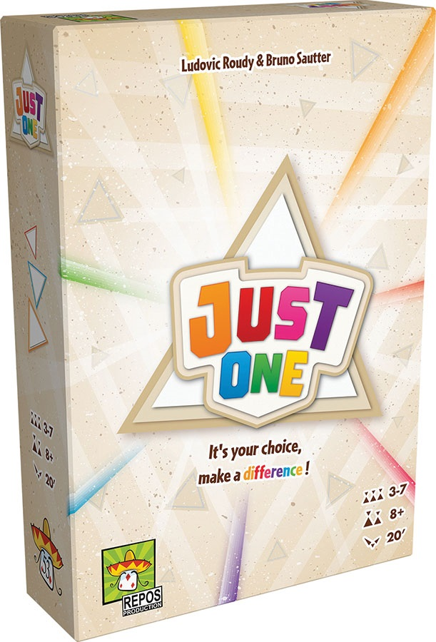 Just One - Demo Copy Game Box