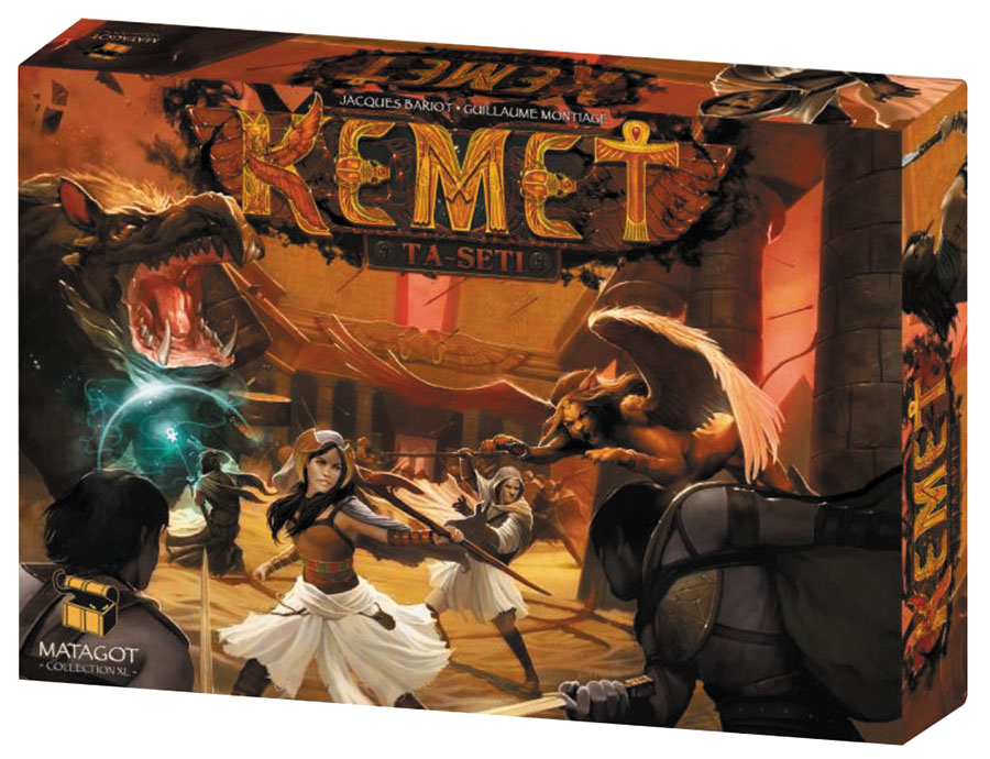 Kemet: Ta-seti Expansion Box Front