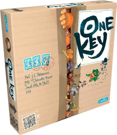 One Key Game Box