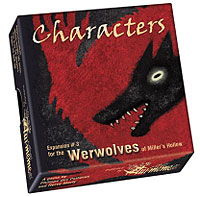 Werewolves Of Miller`s Hollow: Characters Expansion Box Front