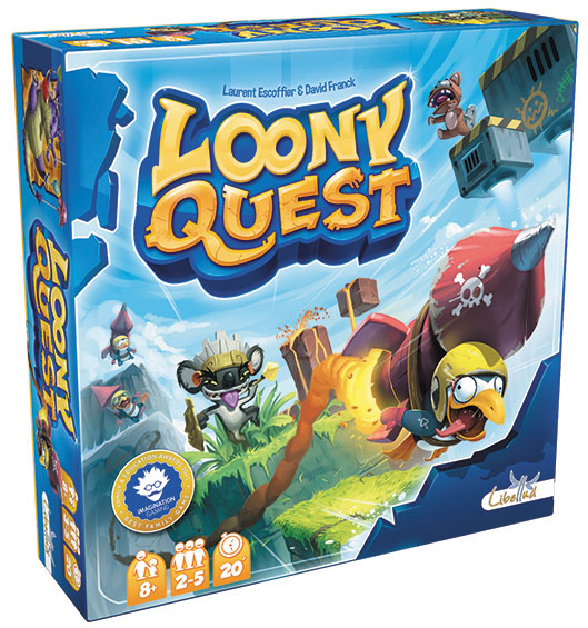 Loony Quest Box Front