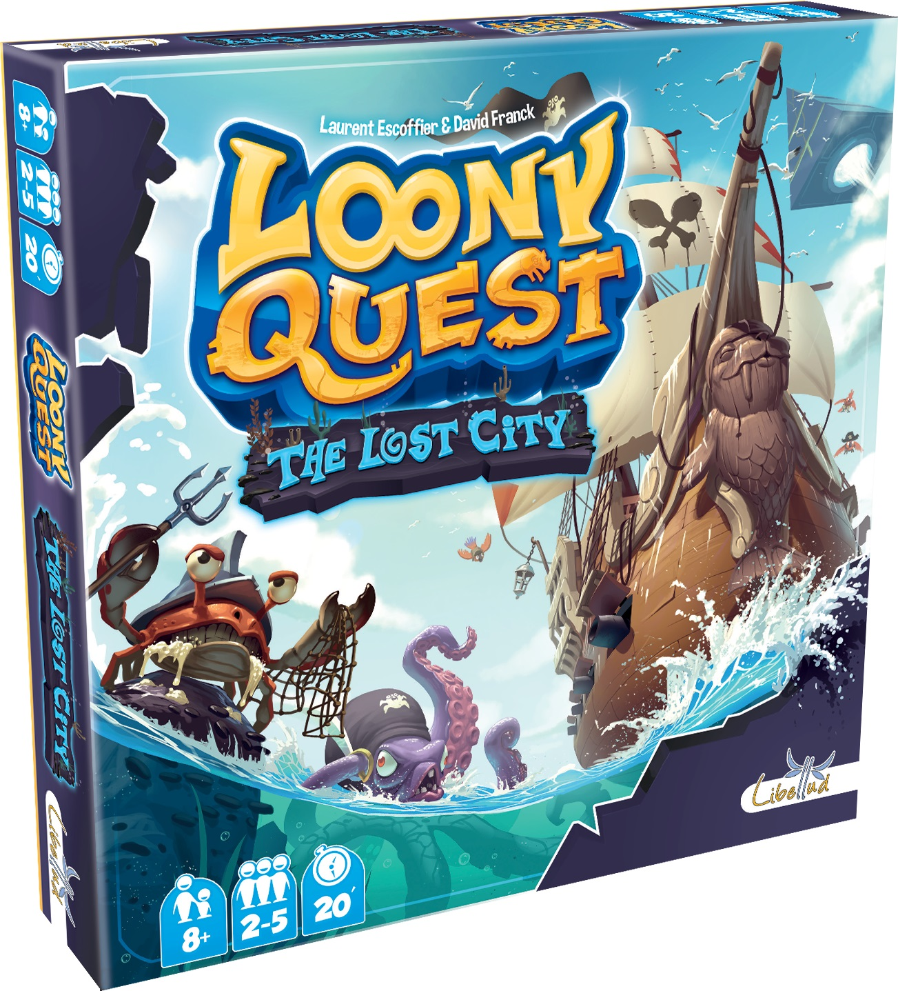 Loony Quest: The Lost City Expansion Box Front
