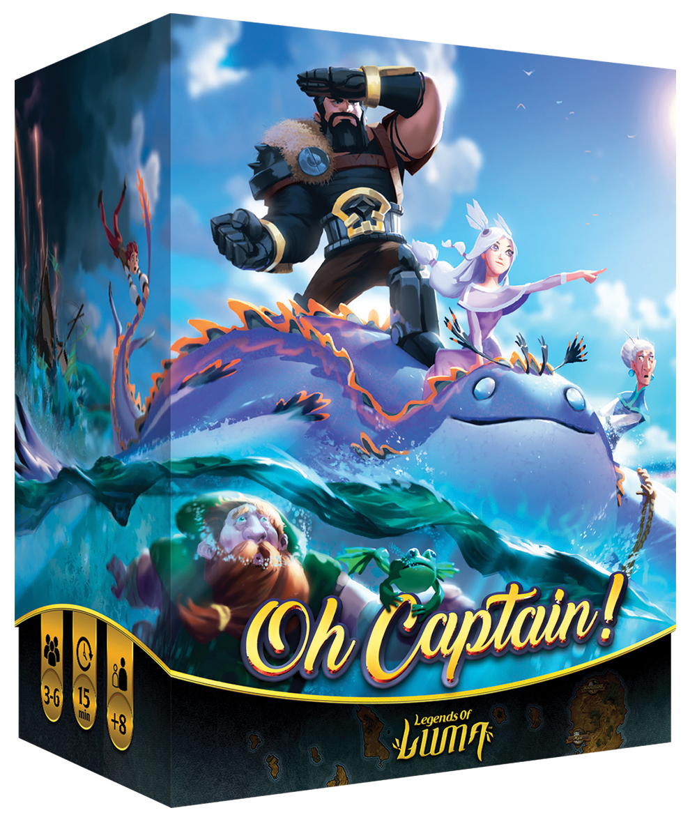 Oh Captain! Box Front