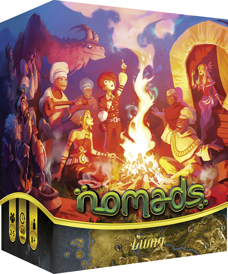 Nomads Box Front
