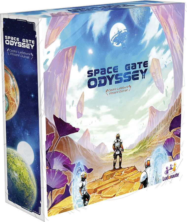 Space Gate Odyssey Game Box