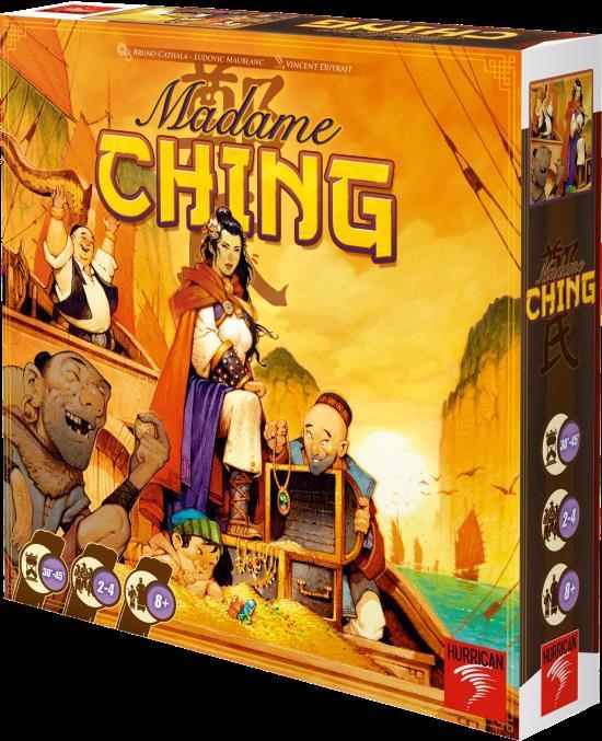 Madame Ching Box Front