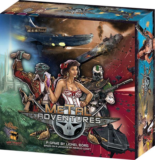 Metal Adventures Box Front