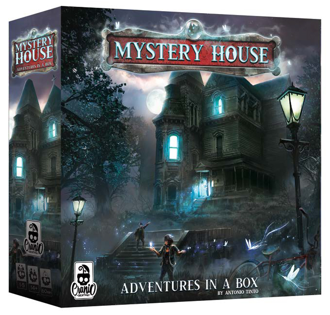 Mystery House Game Box
