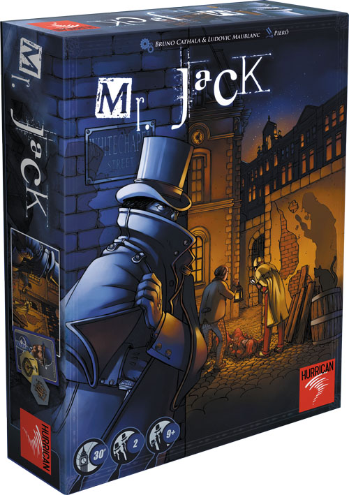 Mr. Jack (revised Edition) Box Front