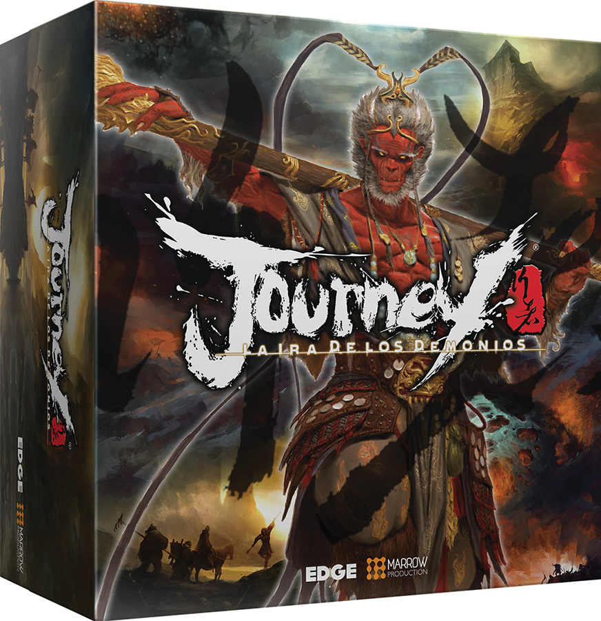 Journey: Wrath Of Demons Game Box
