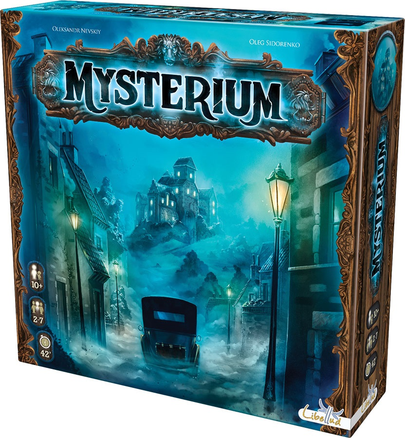 Mysterium: Demo Copy Game Box