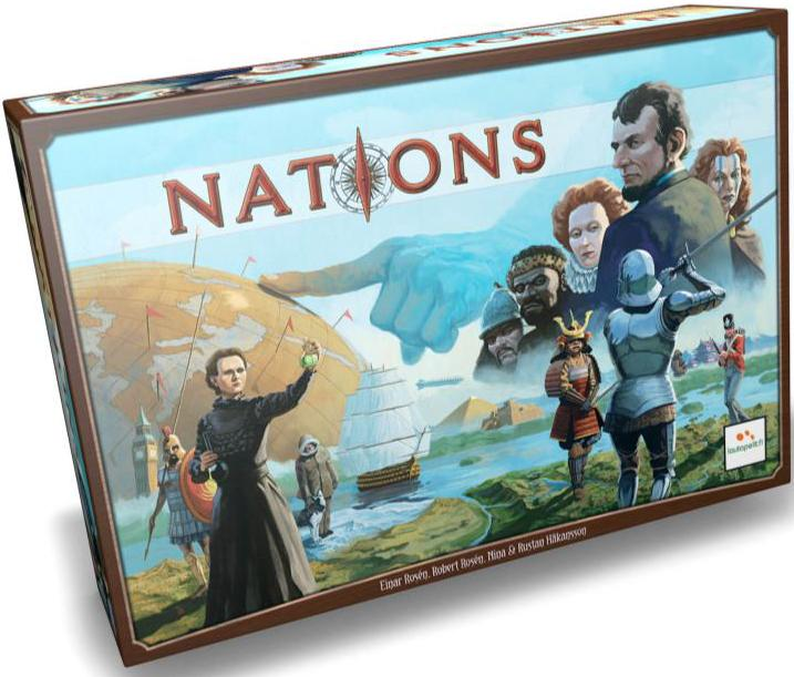 Nations Box Front