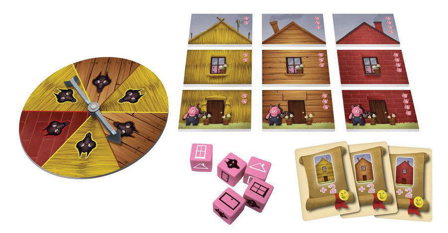 Three Little Pigs Game Box