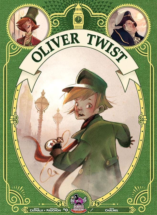 Oliver Twist Game Box