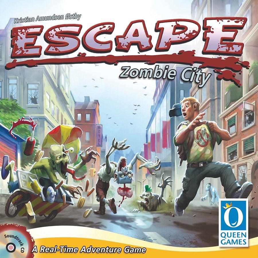 Escape: Zombie City Box Front