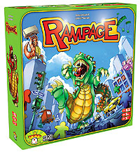 Terror In Meeple City (aka - Rampage) Box Front