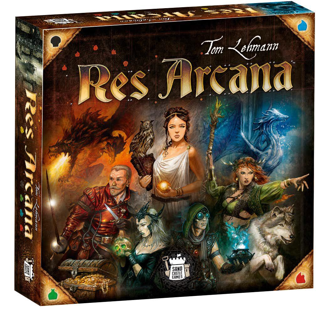 Res Arcana Game Box