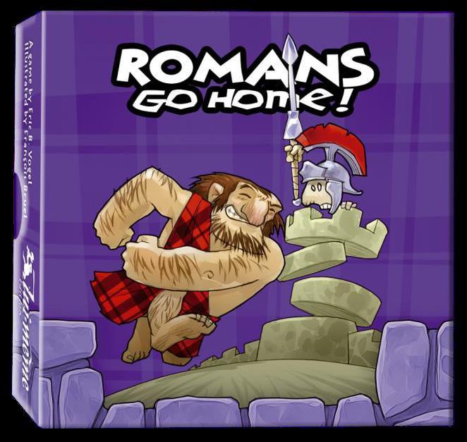 Romans Go Home! Box Front