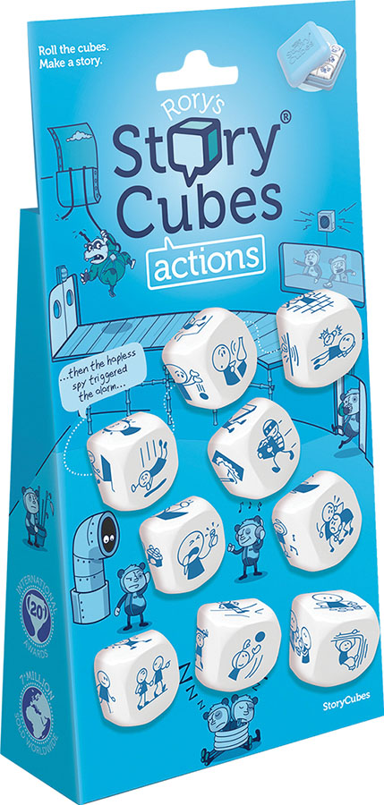 Rory`s Story Cubes: Actions Game Box
