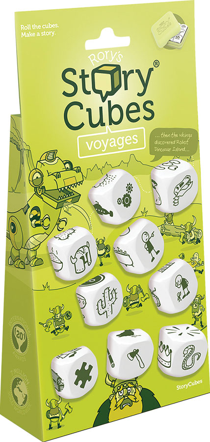 Rory`s Story Cubes: Voyages Game Box