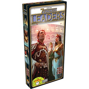 7 Wonders: Leaders Expansion Box Front