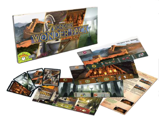 7 Wonders: Wonder Pack Expansion Box Front