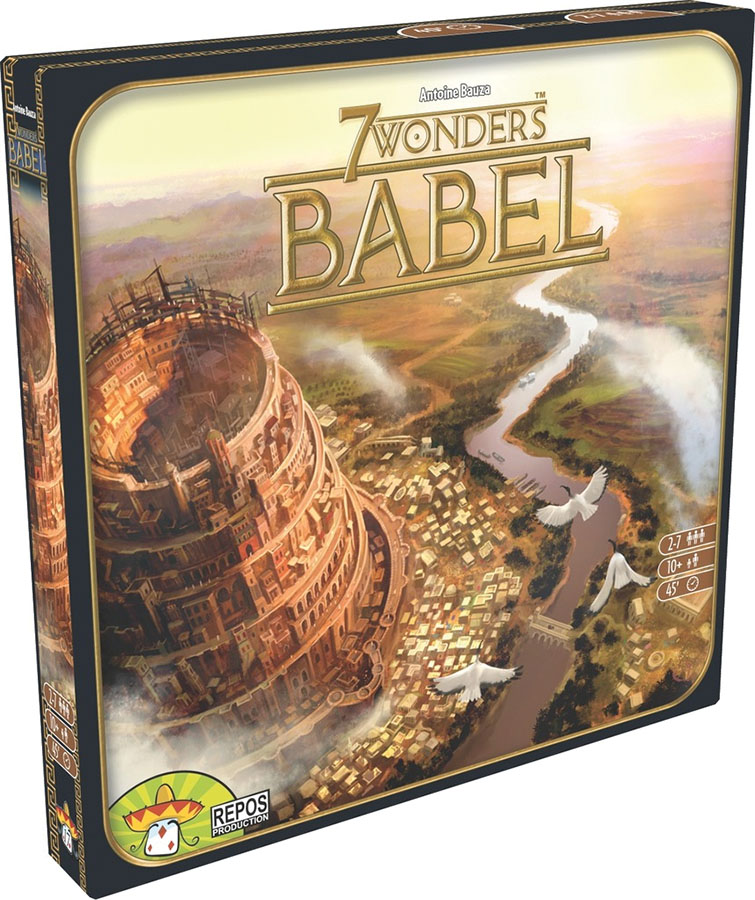 7 Wonders: Babel Expansion Box Front