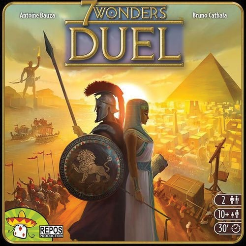 7 Wonders: Duel (stand Alone) - Demo Copy Game Box