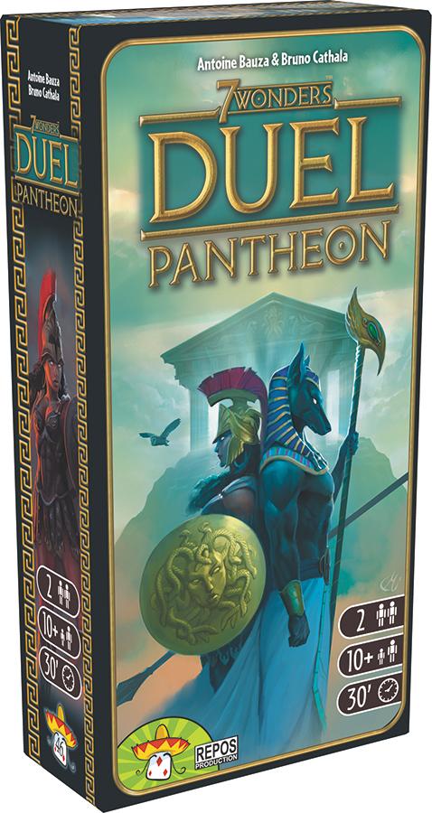 7 Wonders: Duel - Pantheon Expansion Box Front