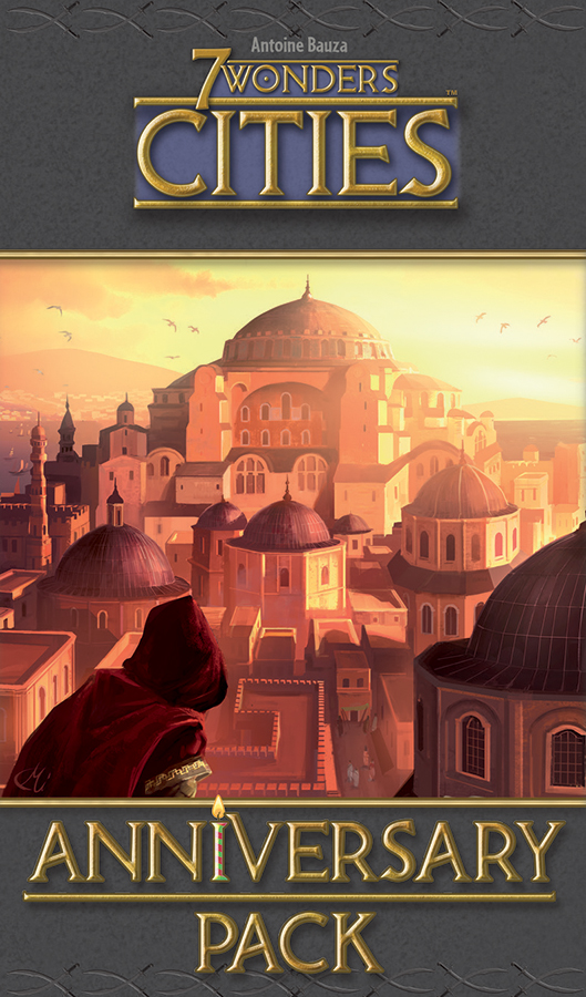 7 Wonders: Cities Anniversary Pack Expansion Game Box
