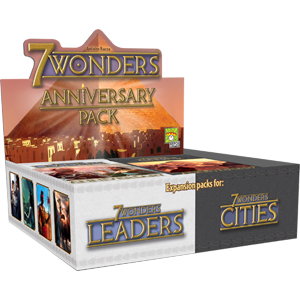 7 Wonders: Anniversary Pack Display (14) Box Front