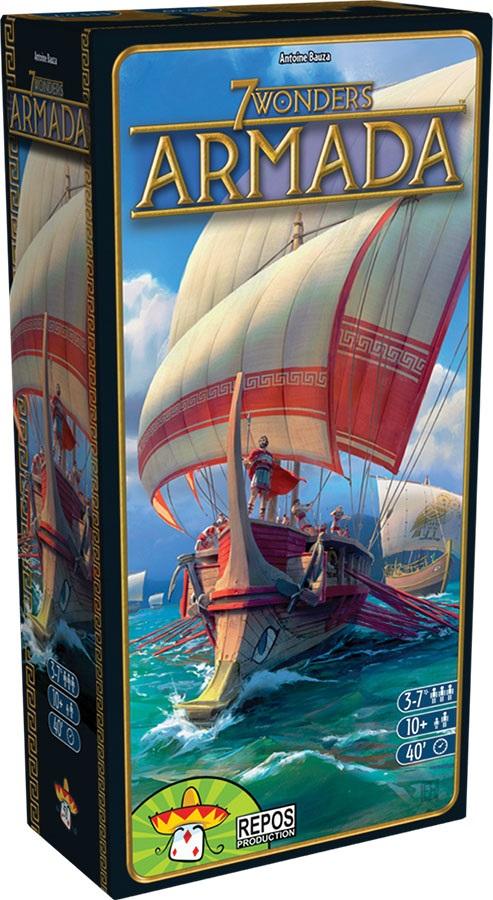 7 Wonders: Armada Expansion - Demo Copy Game Box