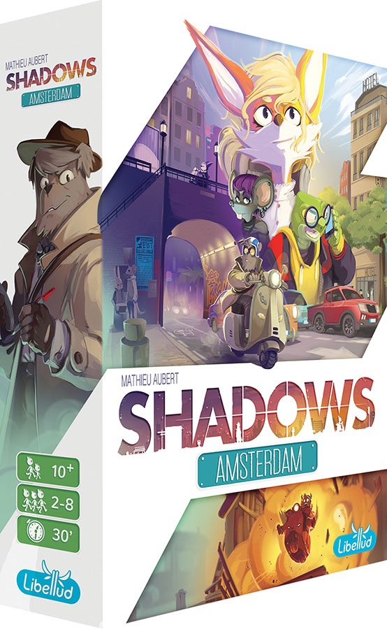 Shadows: Amsterdam - Demo Copy Game Box