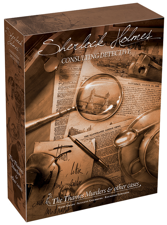 Sherlock Holmes: Consulting Detective - The Thames Murders And Other Cases (stand Alone) Box Front