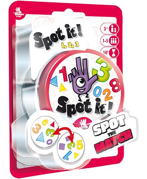 Spot It!: 123 (box) Game Box