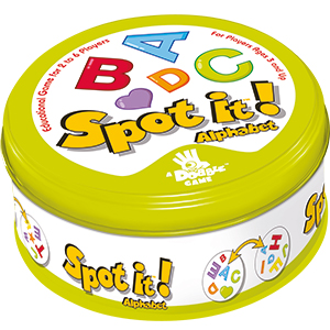 Spot It!: Alphabet Box Front