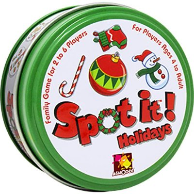 Spot It! Holiday (small Tin) Game Box