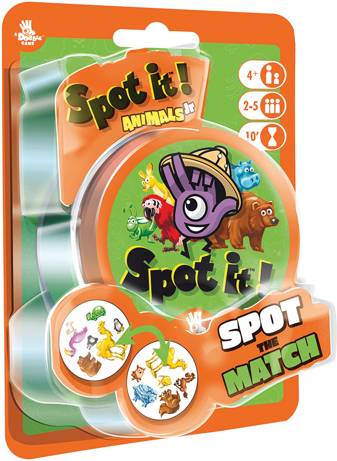 Spot It! Junior: Animals (peg/blister) Game Box