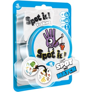 Spot It!: Fishing (peg/blister) Game Box