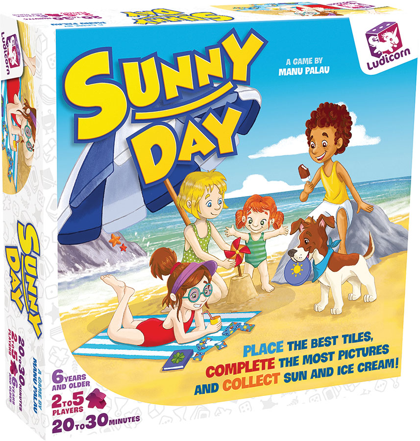 Sunny Day Game Box