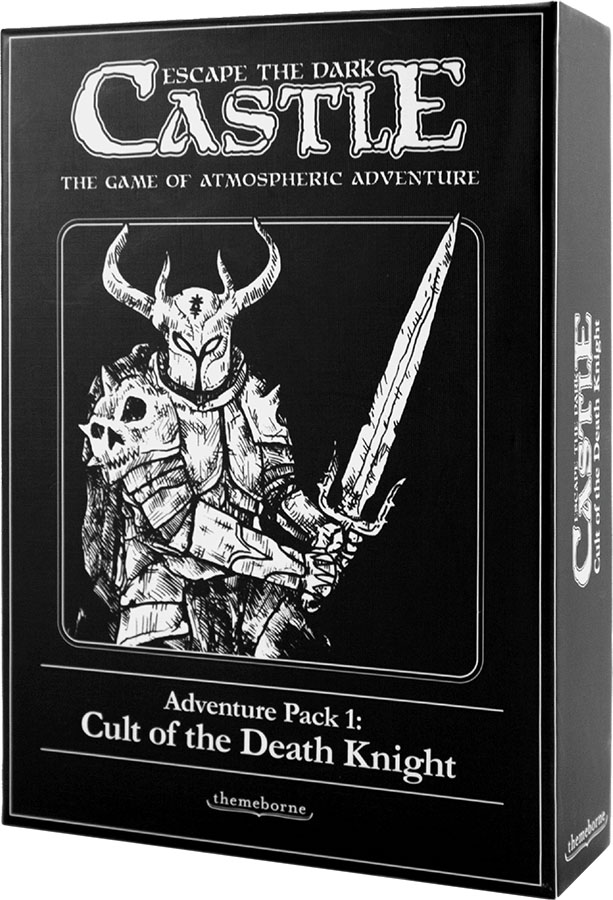 Escape The Dark Castle: Cult Of The Death Knight Expansion Game Box
