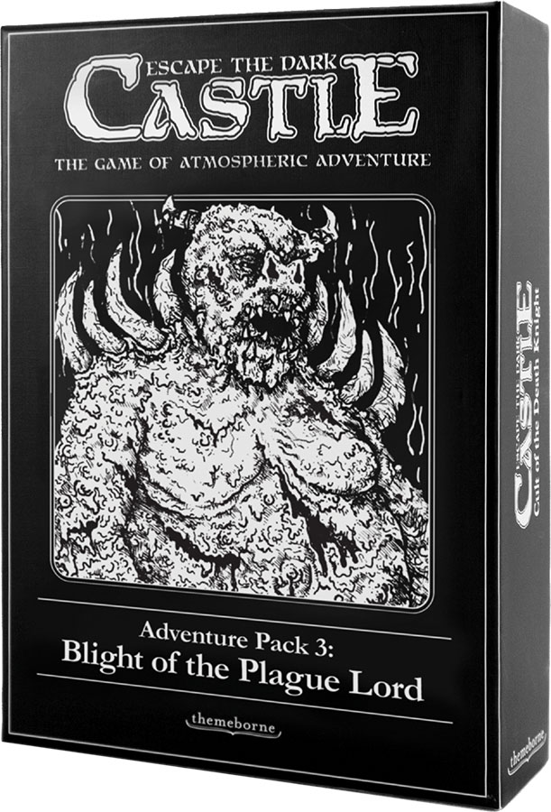 Escape The Dark Castle: Blight Of The Plague Lord Expansion Game Box