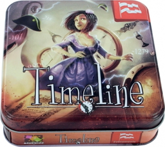 Timeline: Historical Events Box Front