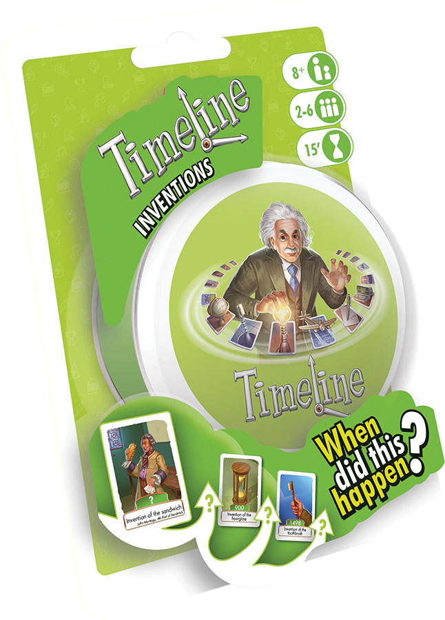 Timeline: Inventions (display 6) Game Box