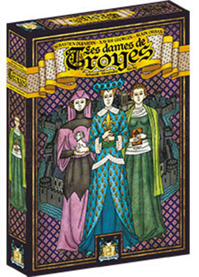 Troyes: The Ladies Of Troyes Expansion Box Front