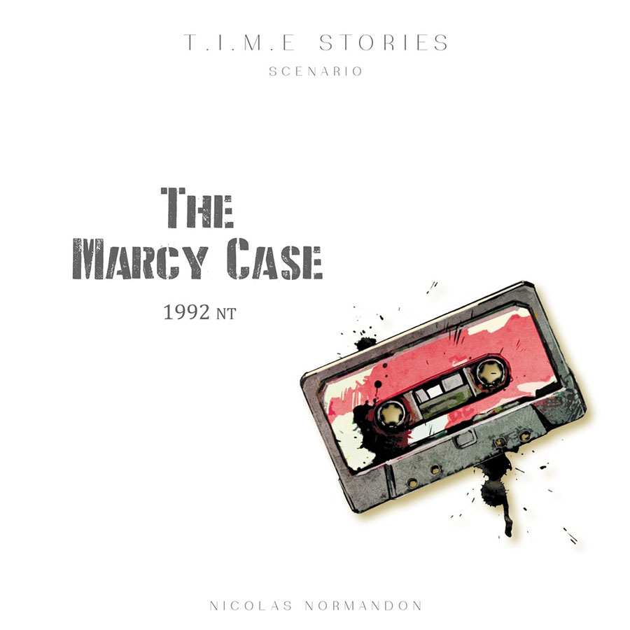 Time Stories: The Marcy Case Expansion Box Front