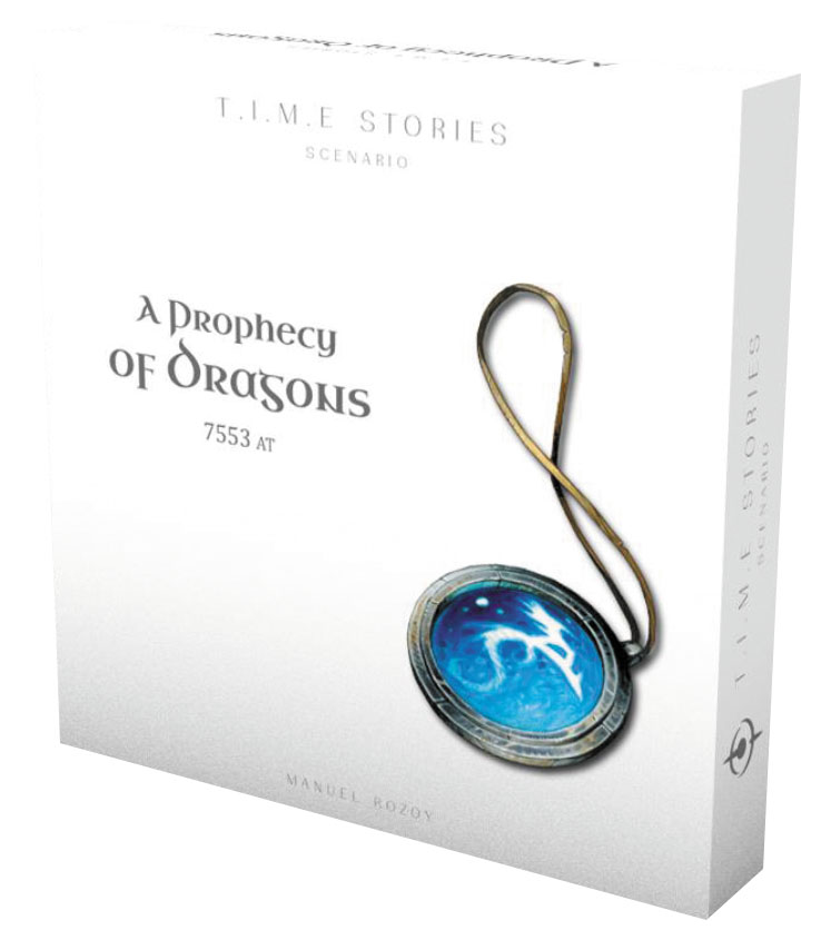 Time Stories: A Prophecy Of Dragons Expansion Box Front