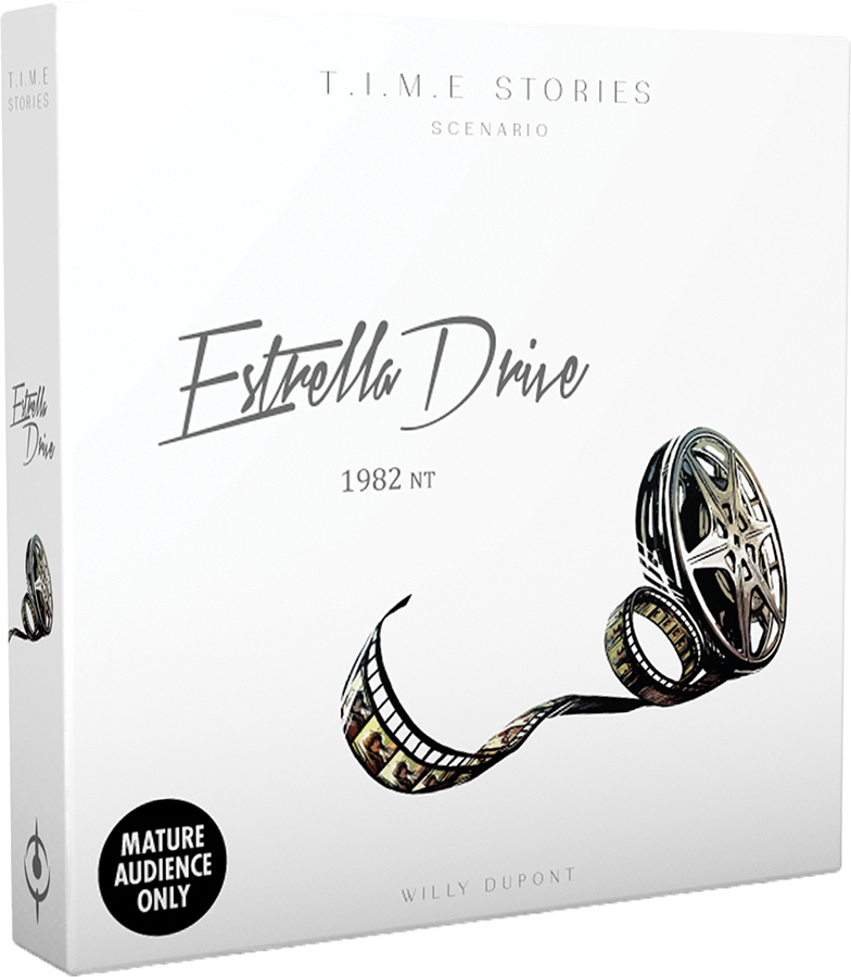 Time Stories: Estrella Drive Expansion Box Front